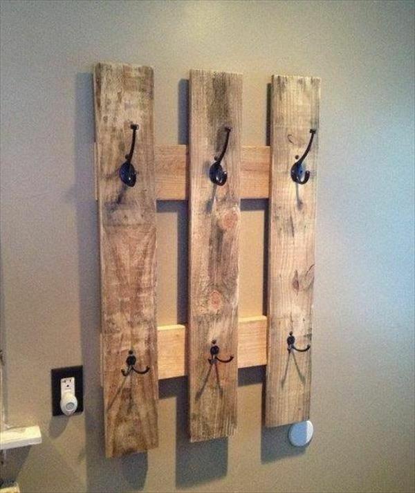 Kleiderhaken Diy bauen mit paletten kleiderhaken diy interior