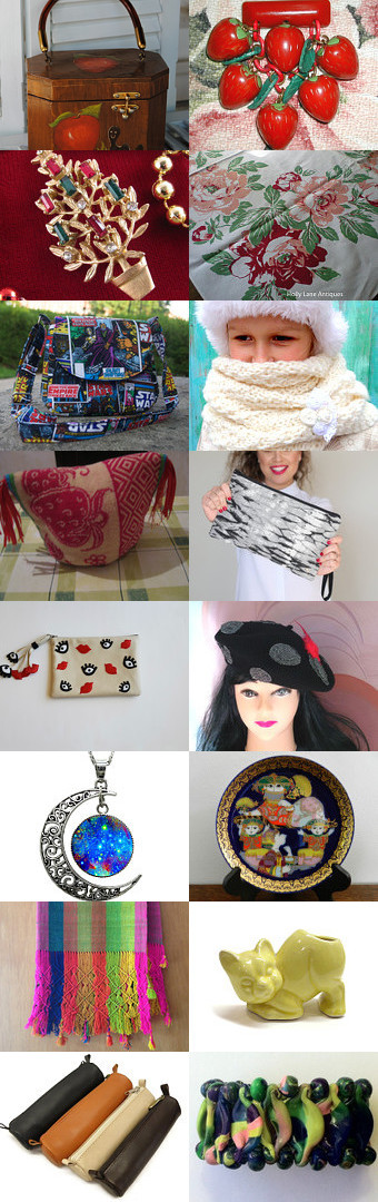 Unique Holiday Gifts From My New Friends  by Gena Lightle on Etsy--Pinned with TreasuryPin.com