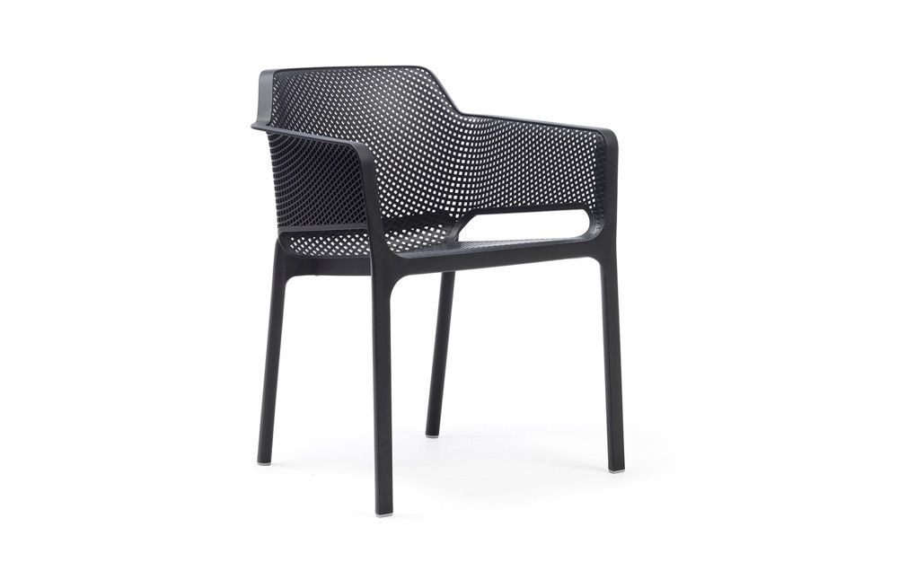 Euro Form Net Chair Anthracite In 2020 With Images Outdoor