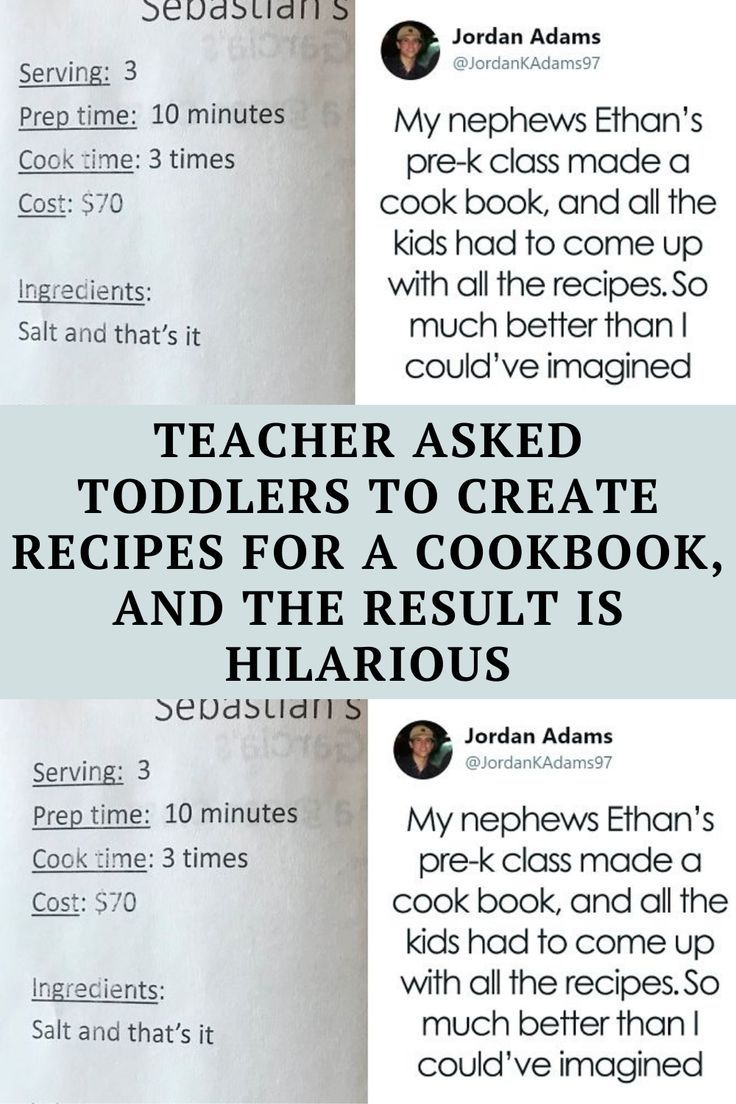 "Texan ""Pizza enthusiast and joke writer"" Jordan Adams loved his nephew Ethan's class cookbook"