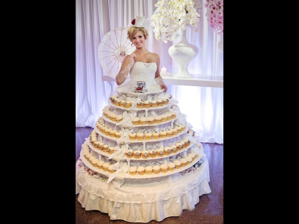 wedding cake taille réel
