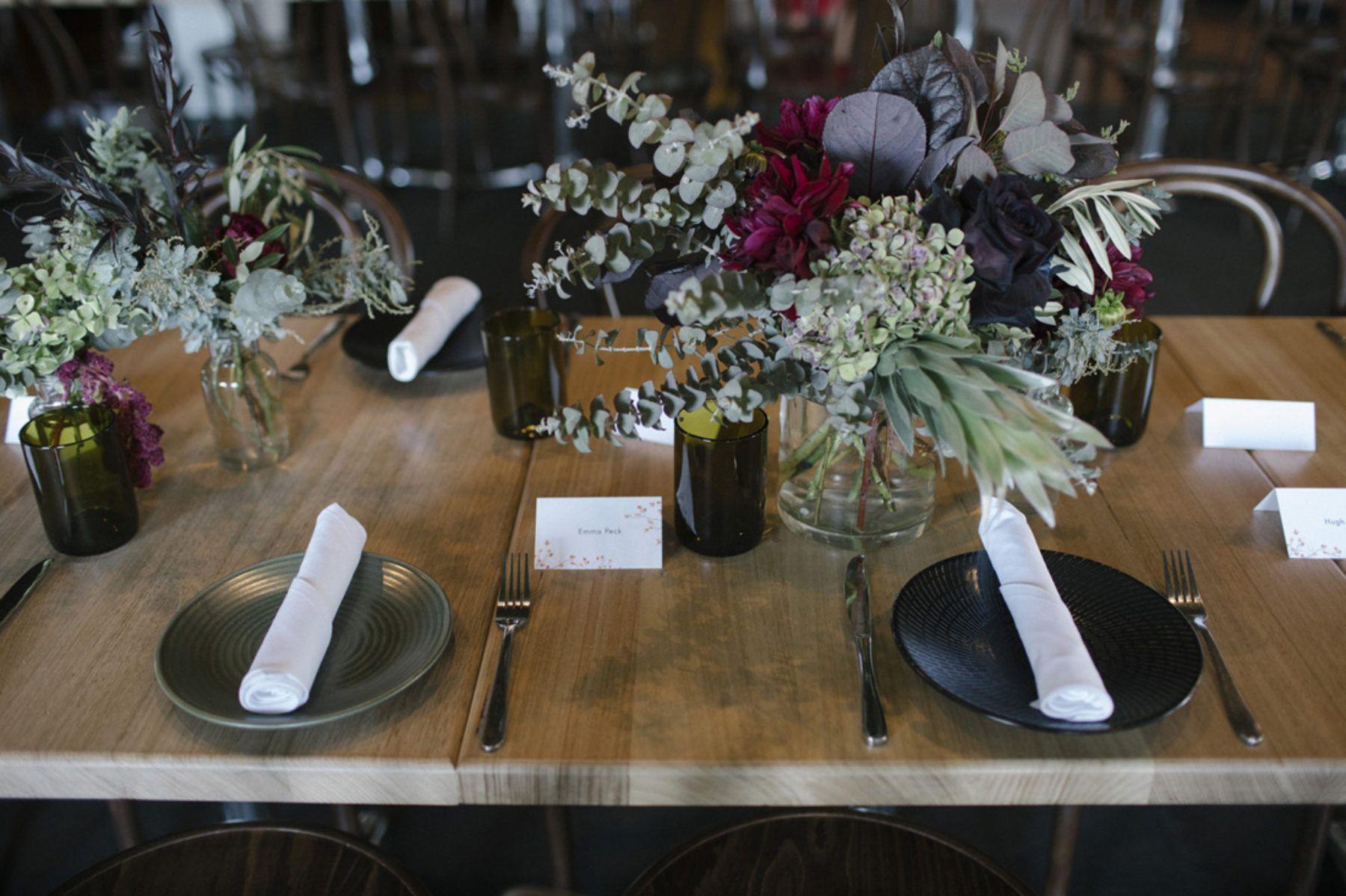 Moody Evening Wedding At Fitzroy's Panama Dining Room  Wedding Pleasing Panama Dining Room Design Decoration