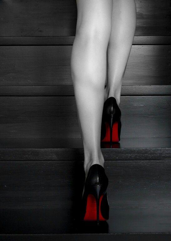 0a9b8e6a7044 Stairs  louboutin  model  photoshoot  canon  fashion  highheels  red  women   enterlouboutinworld