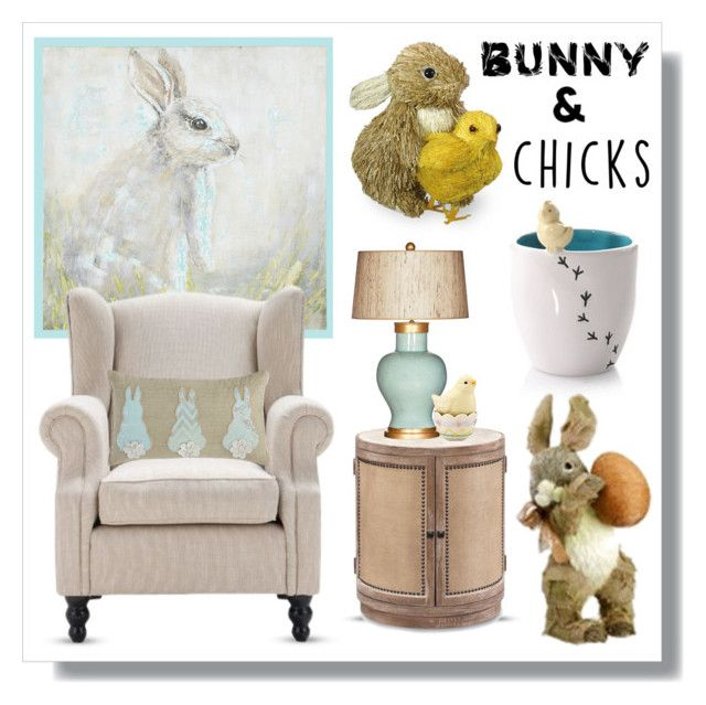 Bunnies Chicks By Lgb321 Liked On Polyvore Featuring