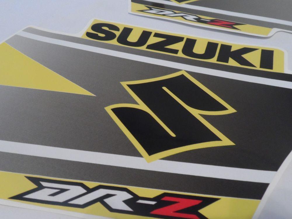 SUZUKI DRZ DRZ DRZ KIT Decals Tank Stickers - Motorcycle stickersmotorcycle stickers ebay