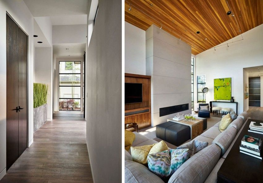 High Quality Garrison Hullinger Interior Design Create A Contemporary Two Storey Home In  Portland