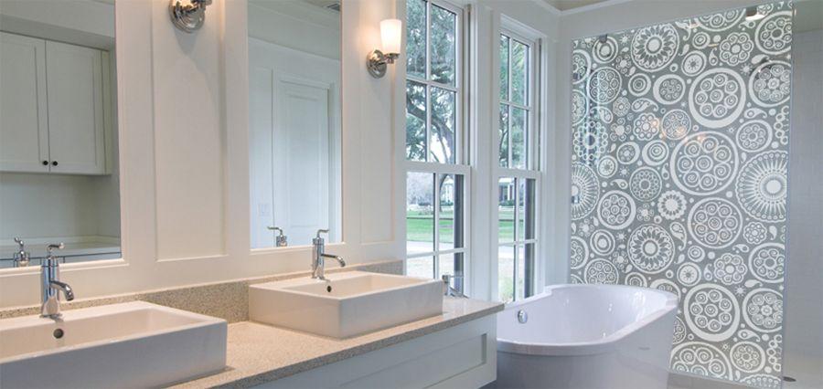 adesivo box de banheiro  Design  Pinterest  Decoracao de banheiros, Fotos  -> Banheiro Pequeno Adesivo