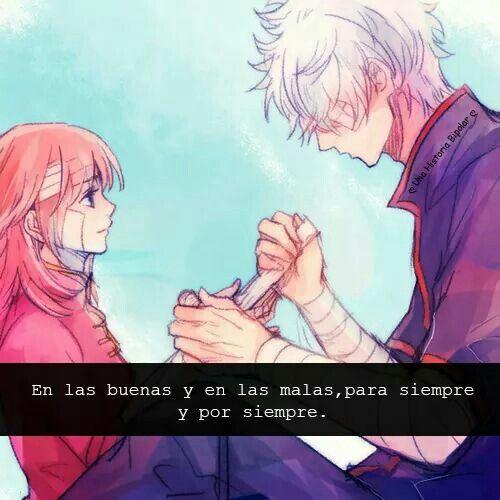 En Las Buenas Y En Las Malas Frases De Anime Pinterest Anime