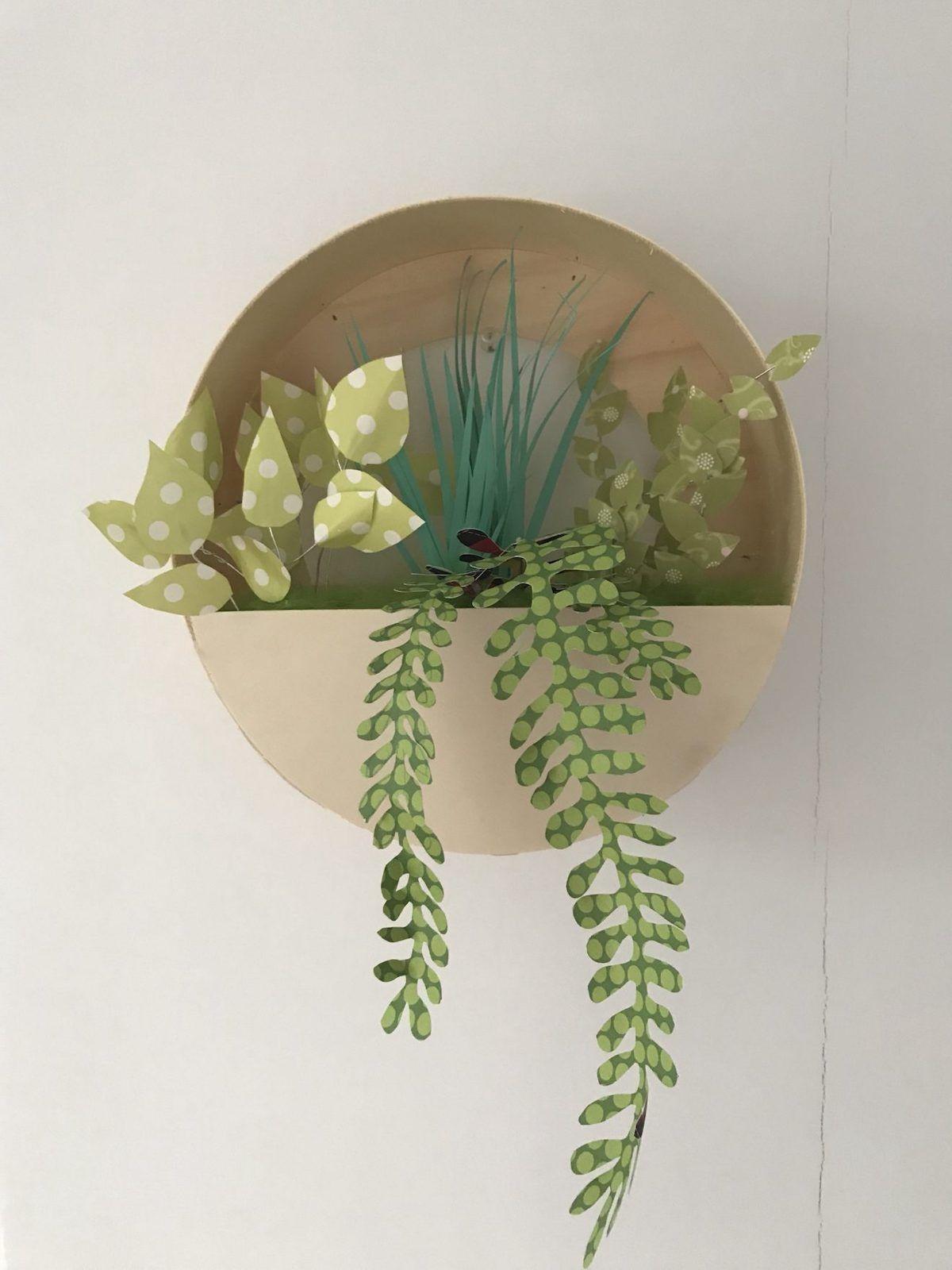 Plante En Papier Diy Et Inspirations Blog Deco Clemaroundthecorner Plantes En Papier Fausse Plante Blog Deco