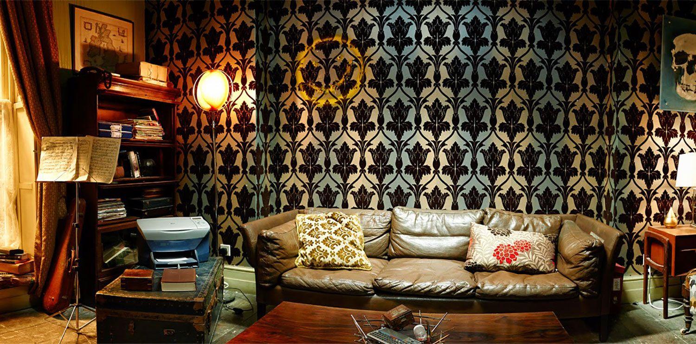 Living room victorian pinterest baker street sofas and 221b - Home Sweet Baker Street Shot Of The Main Flat Living Area 3 Of