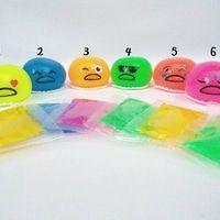 Gudetama Mainan Gudetama Muntah Emoticon Gudetama Slime Toys