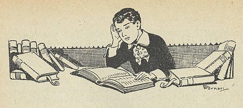 bambino sui libri