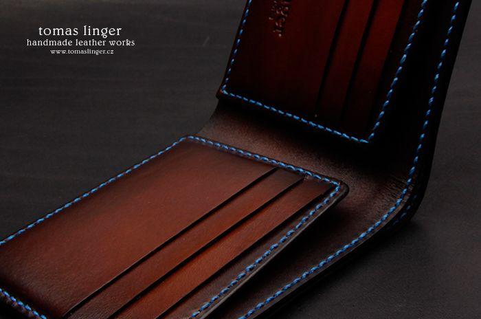 Pánská peněženka ručně šitá luxusní  991eb9cad4