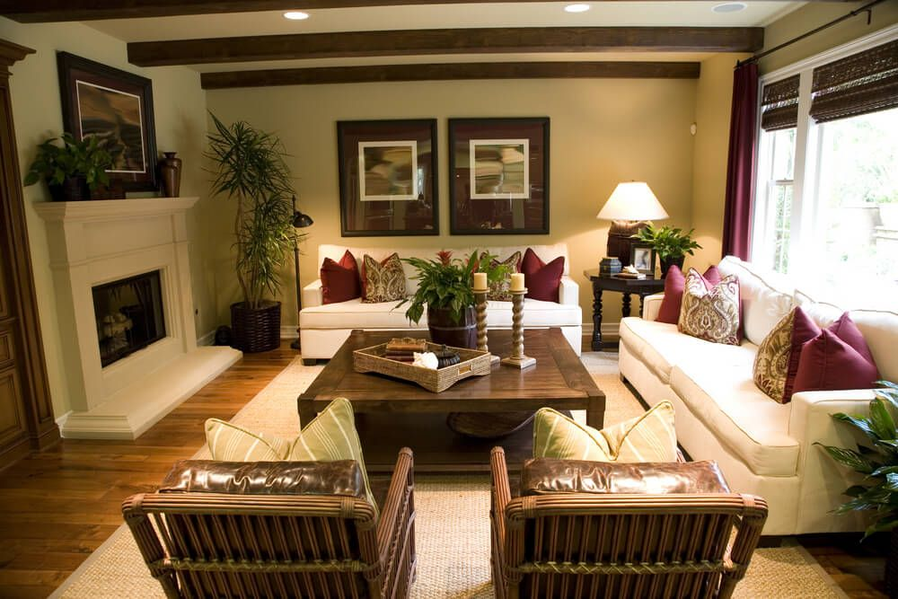 47 Beautifully Decorated Living Room Designs Part 22