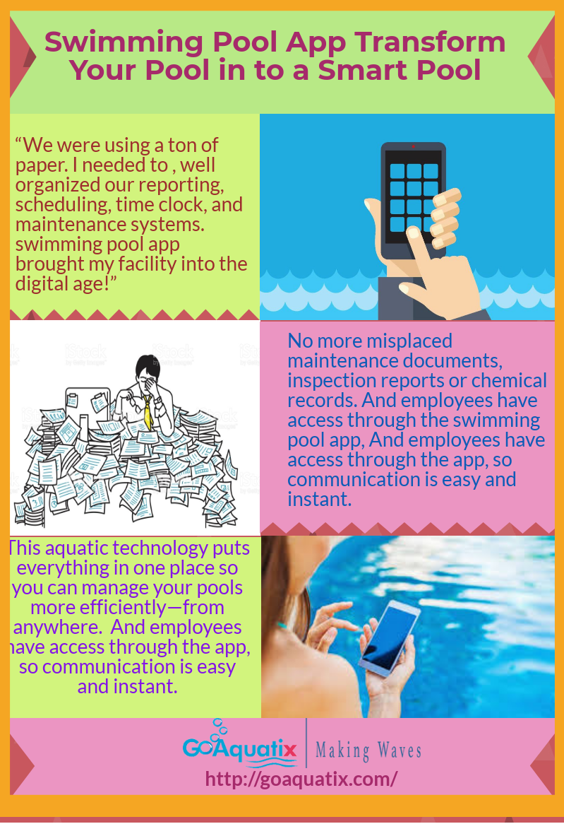 A Swimming Pool App is Very Important in Proper Management of your ...