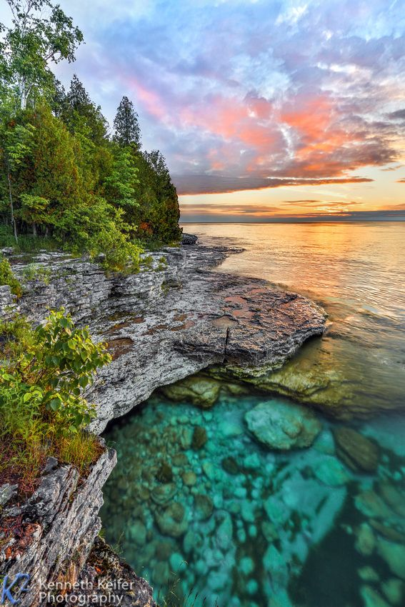 Featured Photography Gallery Door County Wisconsin Nature Pictures Sunset Landscape