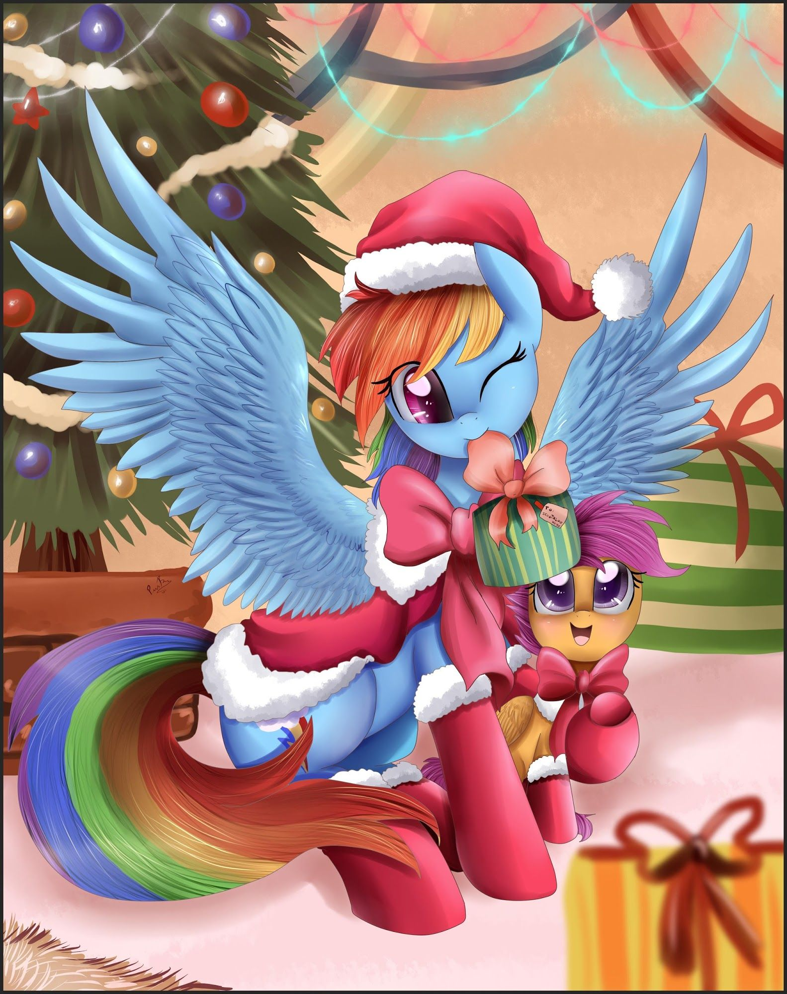 Rainbow Dash And Scootaloo My Little Pony Cartoon Mlp My Little Pony My Little Pony Pictures And nothing makes the holiday more fun than christmas games and activities designed. mlp my little pony