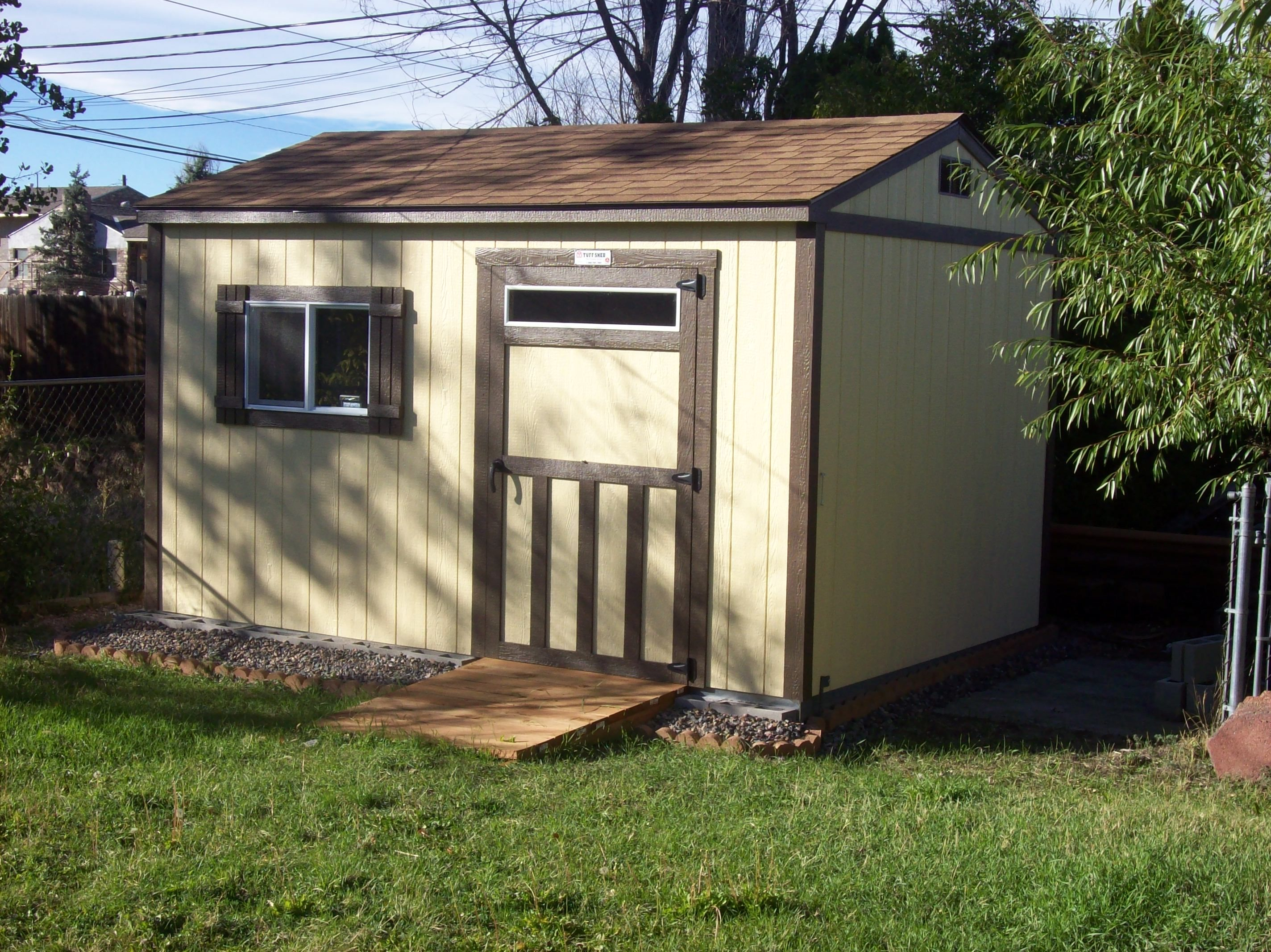 the smallest upgrades can bring the biggest style for your shed
