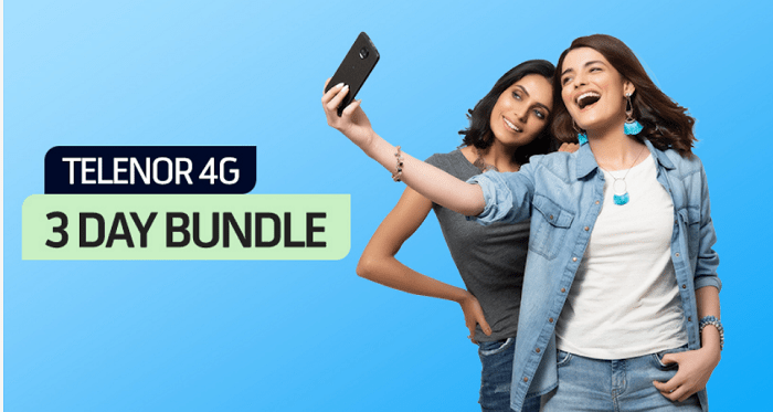 Telenor 4g 3 Day Data Internet Bundle Package 2020 In 2020