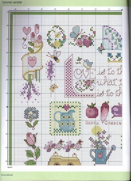 Love summer patterns to stitch Gallery.ru / Фото #10 - 962 - Yra3raza