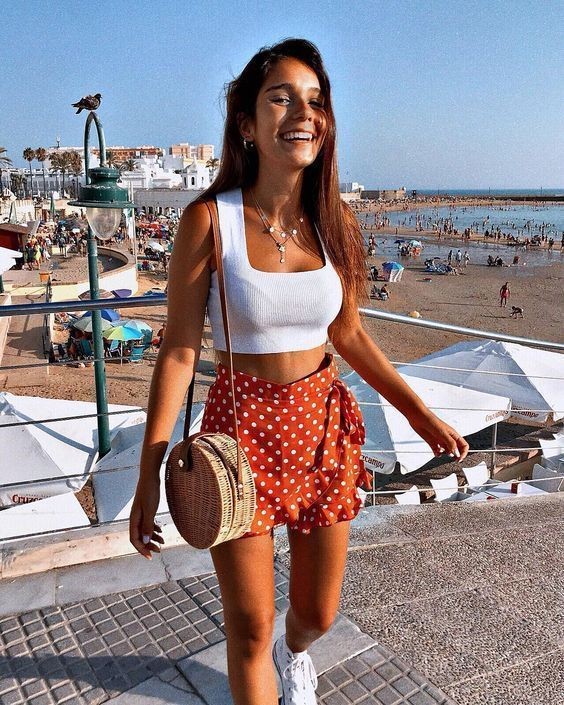 12 Summer Outfits To Keep You Cool And Cute - crazyforus #summer I guess she tho...