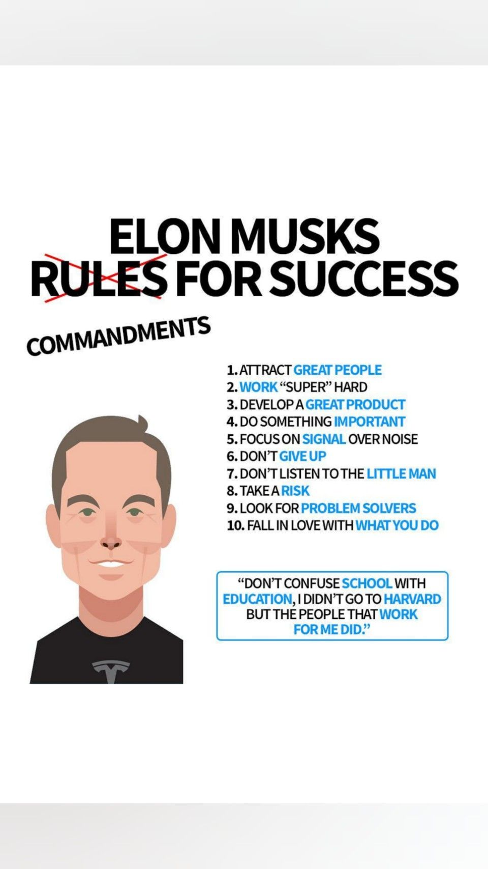 Elon Musk Is The One Of The Greatest Entrepreneurs Of All The Time He Shares His Theory About Success Which Great Entrepreneurs Success Elon Musk