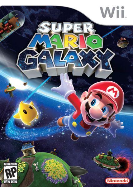 Super Mario Galaxy, my favorite Mario game!