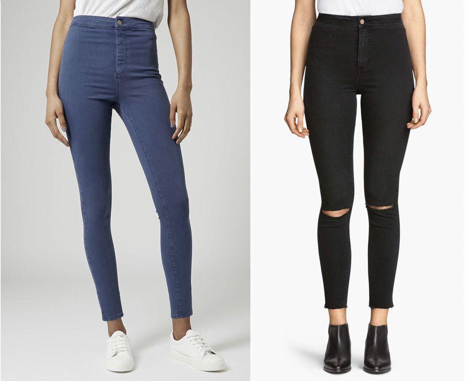 Mode 2019; Damen Jeans Trends und Tendenzen 2019 | Jeans