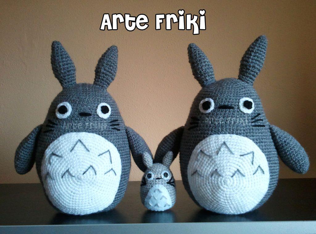 Tonari no Totoro =^-^=   personajes amigurumis   Pinterest   Totoro ...