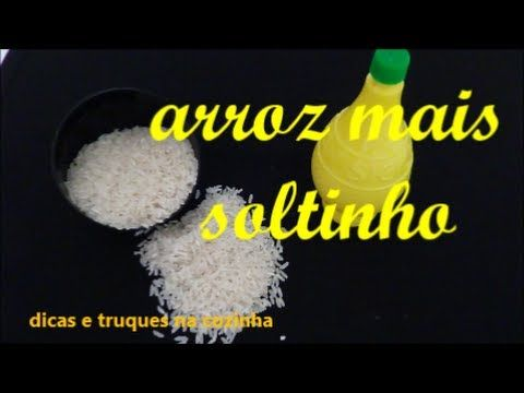 71º SAIBA O SEGREDO COMO TER ARROZ SOLTO E MAIS BRANCO E GOSTOSO - YouTube