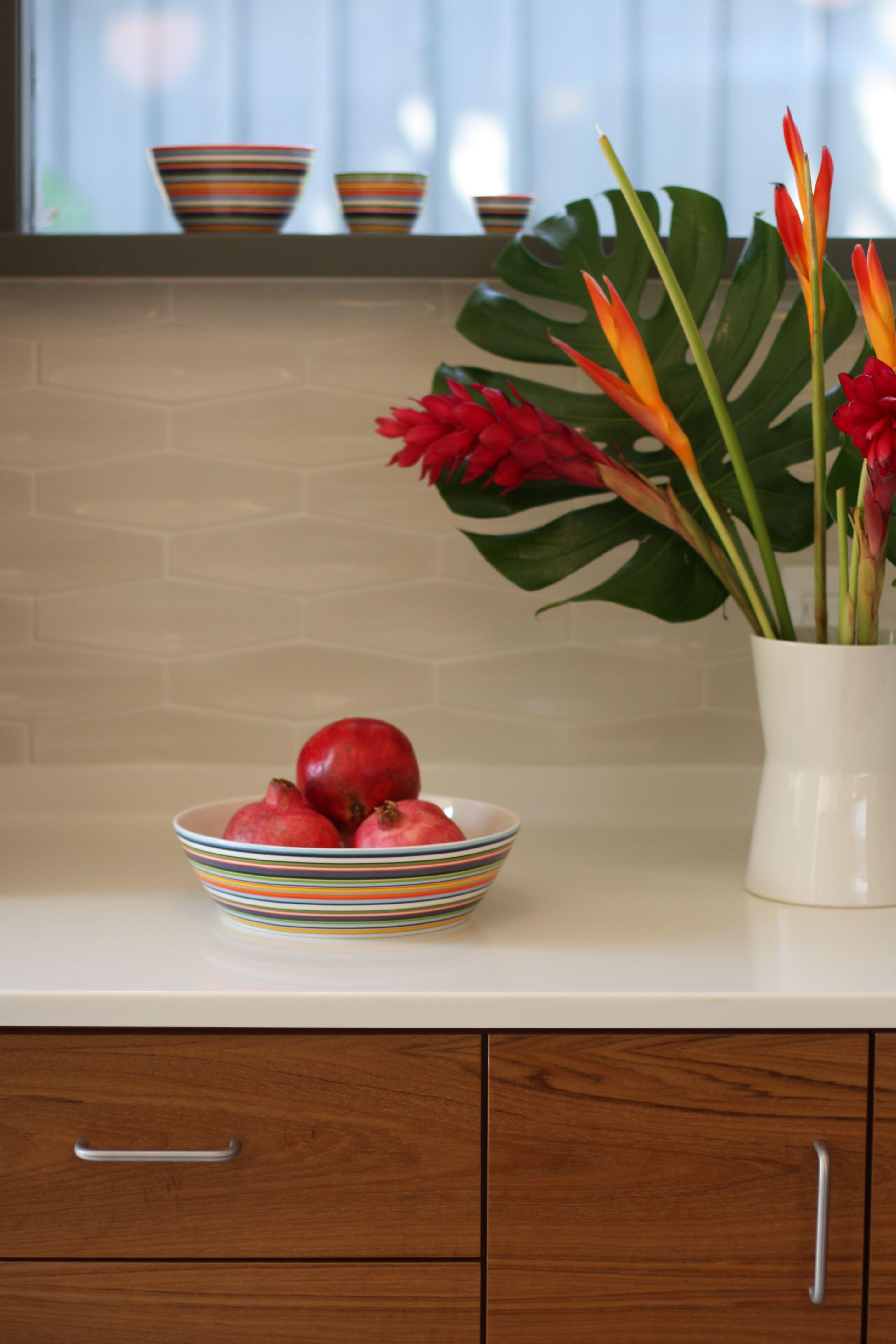 Detail from Rubin kitchen] check the Heath diamond dimensional tiles ...