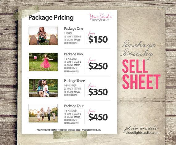 Sample Wedding Photography Packages  Google Search  Photography