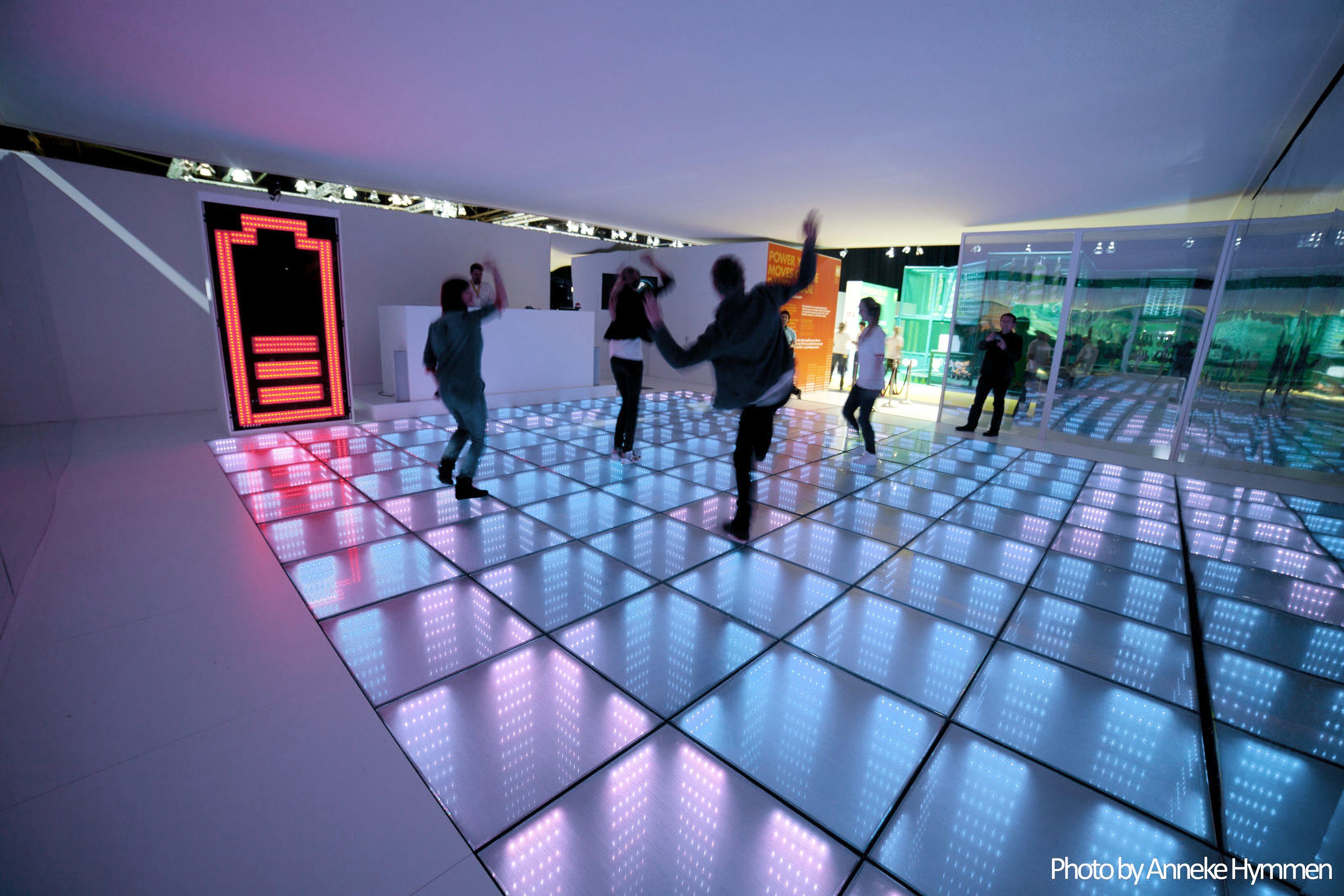 Energy floors energy harvesting sustainable energy