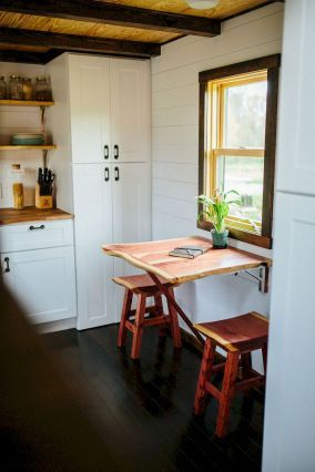 65 Clever Tiny House Kitchen Decor Ideas Tiny Home Kitchen
