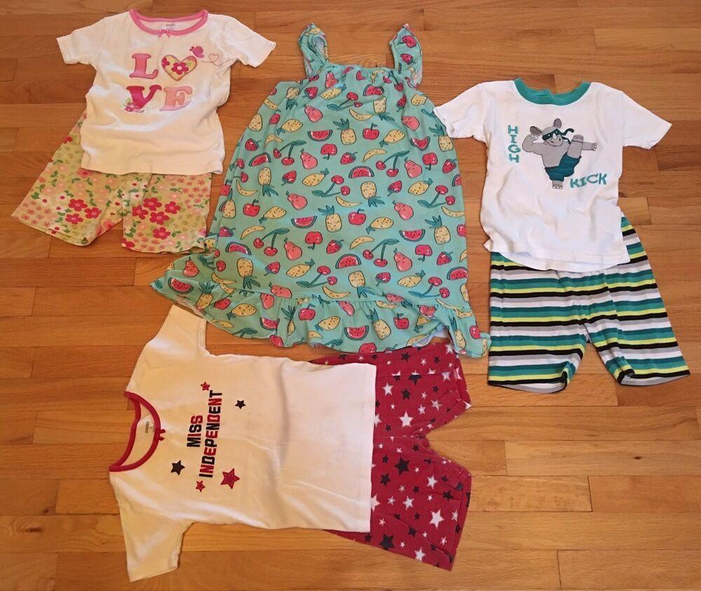 c520c9407378 Gymboree Girls Pajama Lot Gown Shorts Shirts Size 7/8 8 #fashion #clothing  #shoes #accessories #kidsclothingshoesaccs #girlsclothingsizes4up (ebay  link)