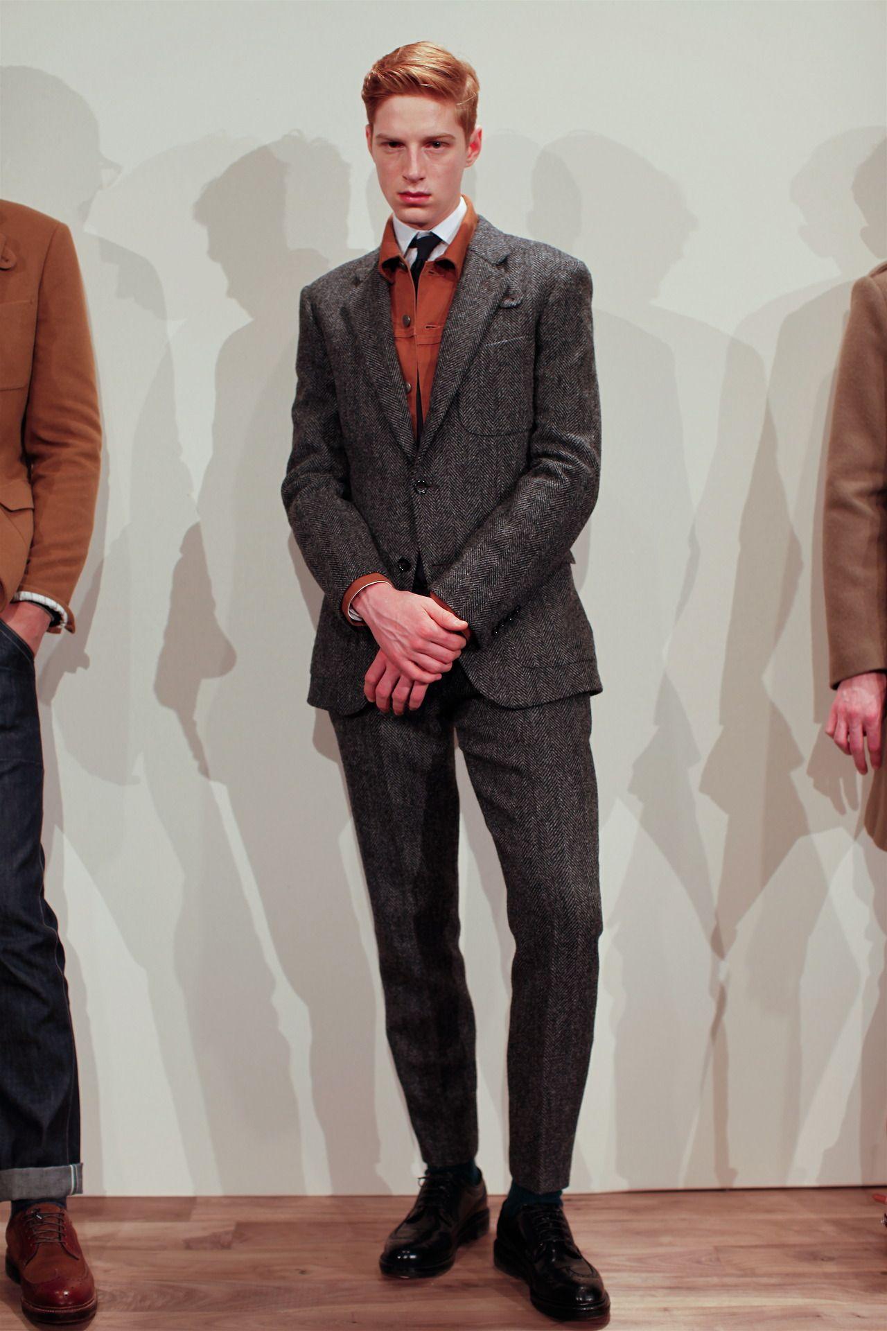 New York Fashion Week J.Crew Men's Fall 2013... | Closet Freaks