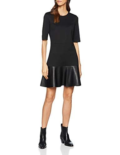 Esprit collection kleid schwarz gold