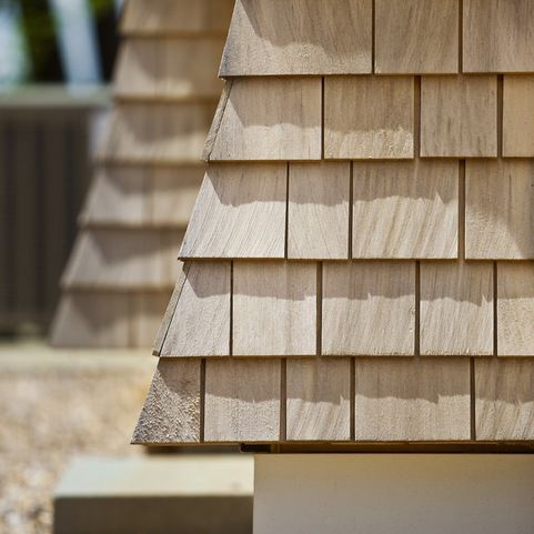 Cedar Cabot Bleaching Oil Siding Wood House
