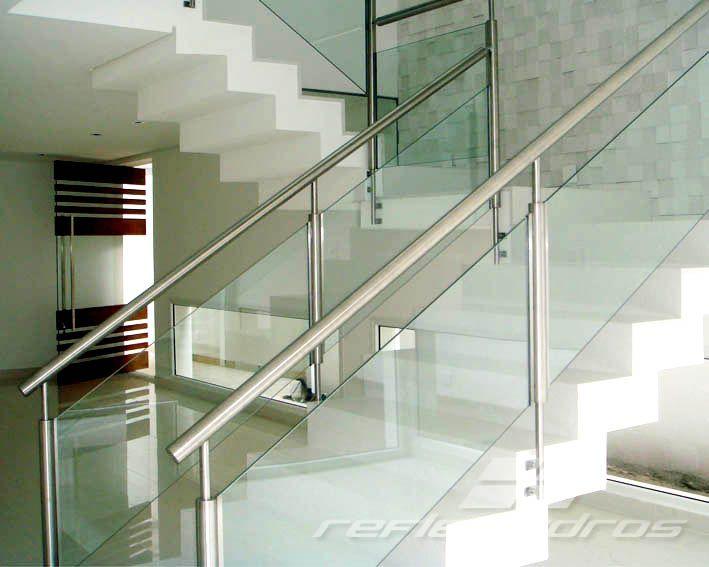 Fabuloso Guarda-Corpo   Reflex Vidros   Escadas   Pinterest   House  QP36