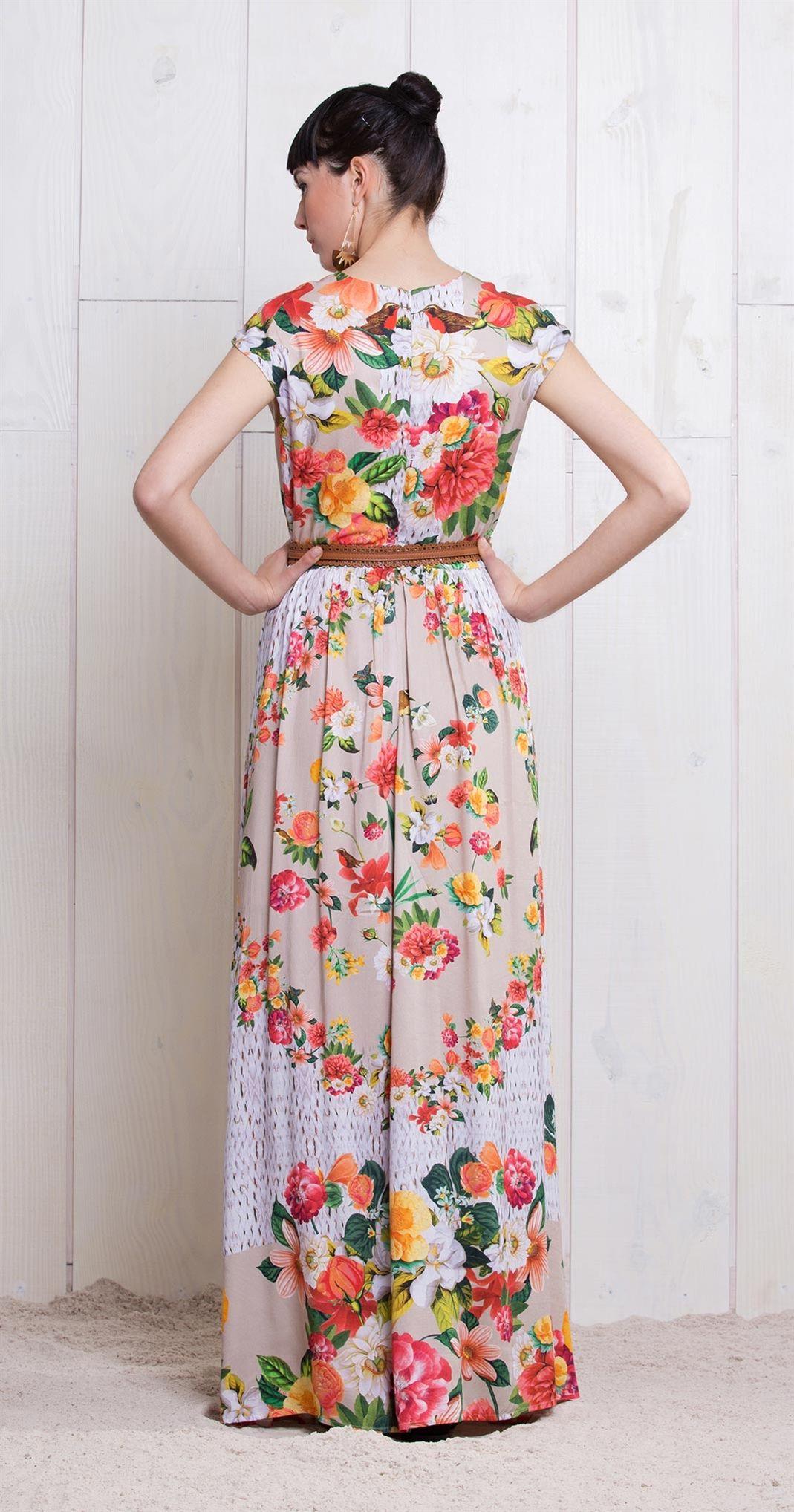 Vestido Longo Cesta de Flores   Lookbook   Antix Store   Moda bebb41bb60