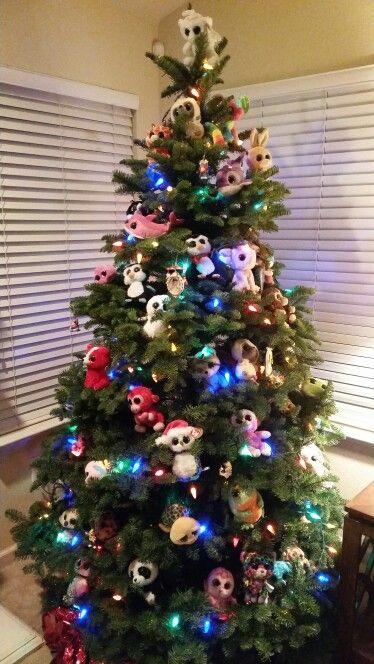 TY Beanie Boo Christmas tree  35ed60c05a4d