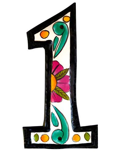 great deals on decorative house numbers decorating. Black Bedroom Furniture Sets. Home Design Ideas