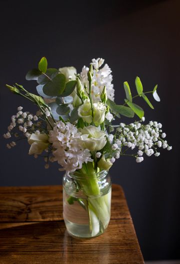 Jar Wild Natural Pretty Summer White Rose The Flowermonger Uk