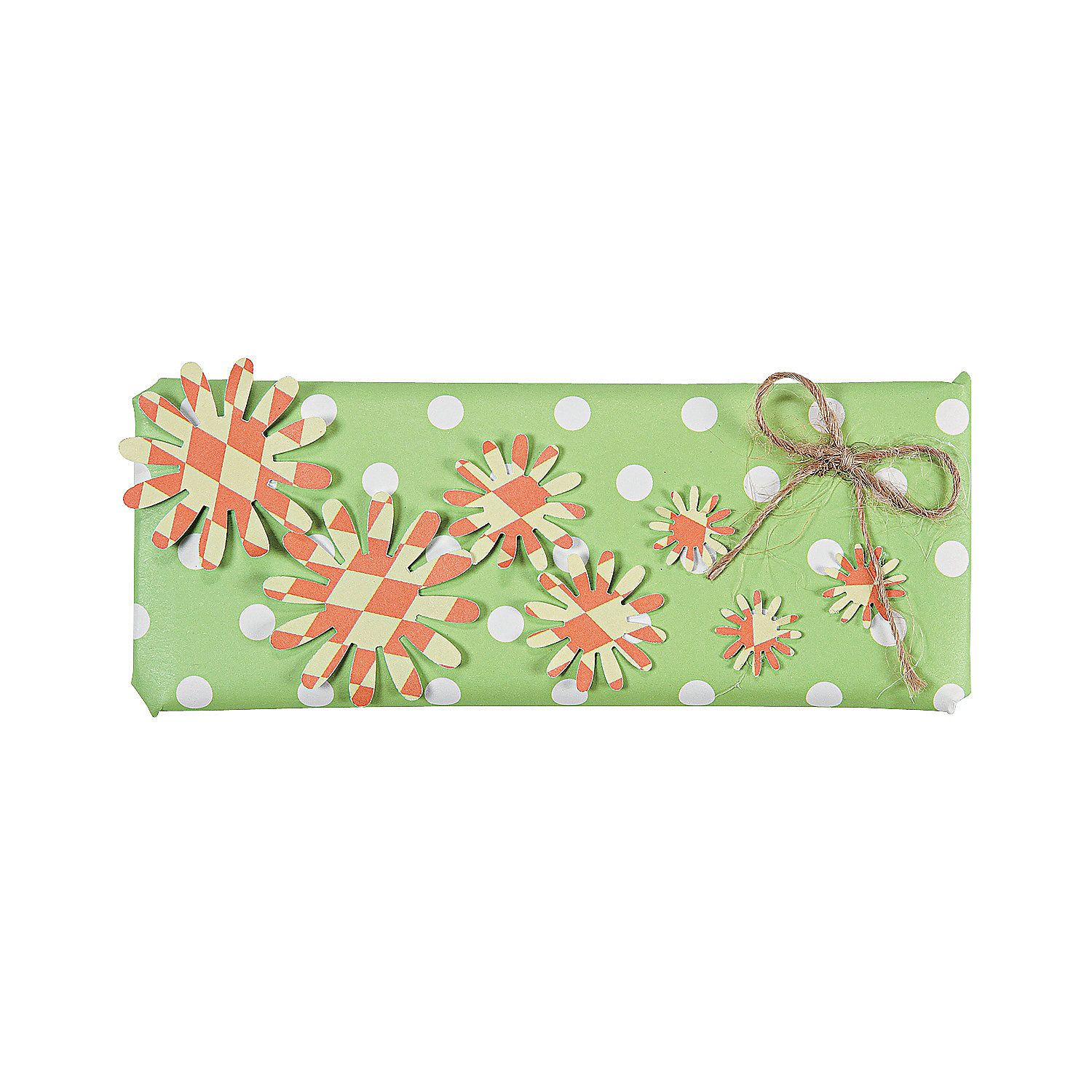 Flower Power Candy Bar Wrap Idea - OrientalTrading.com | fashion ...