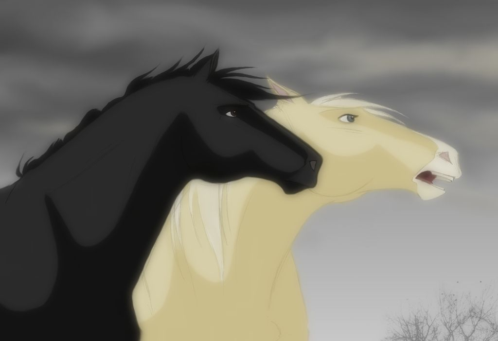 Spirit Stallion of the Cimarron Lanyard Featuring Rain and Esperanza!
