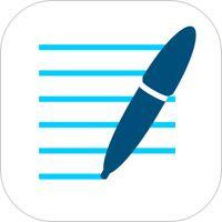 GoodNotes 4 - Notes & PDF' van Time Base Technology Limited  Deze app gebruik ik als schoolbord in de klas. Zit zelfs een pointer in. Schrijven gaat makkelijk. Eigen achtergronden in te voegen. Makkelijk importeren en exporteren.