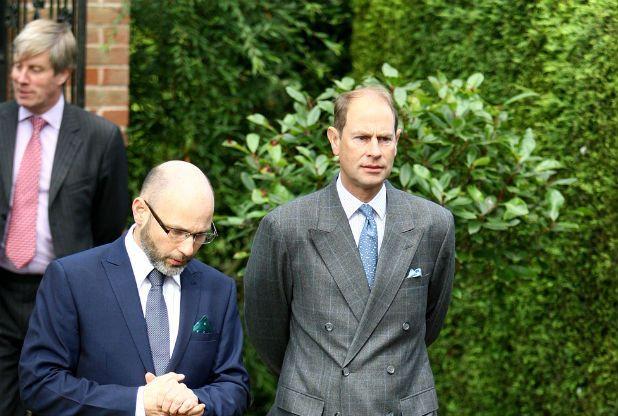 Royal visit to Laxton Holocaust Centre