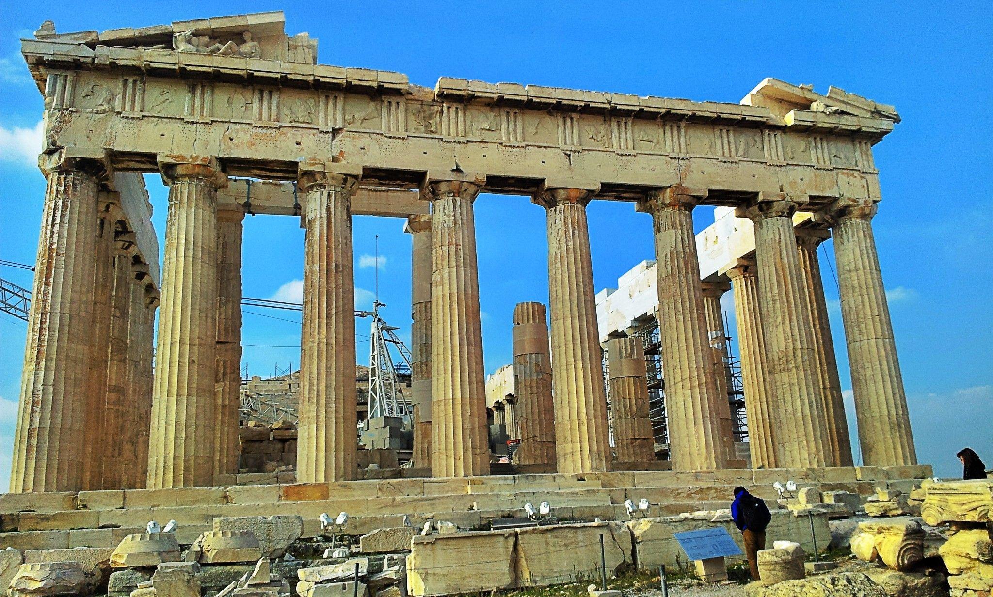 El Partenon en Atenas, Grecia