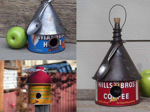 Casette per uccelli su pinterest case delle fate - Casette per uccellini da costruire ...