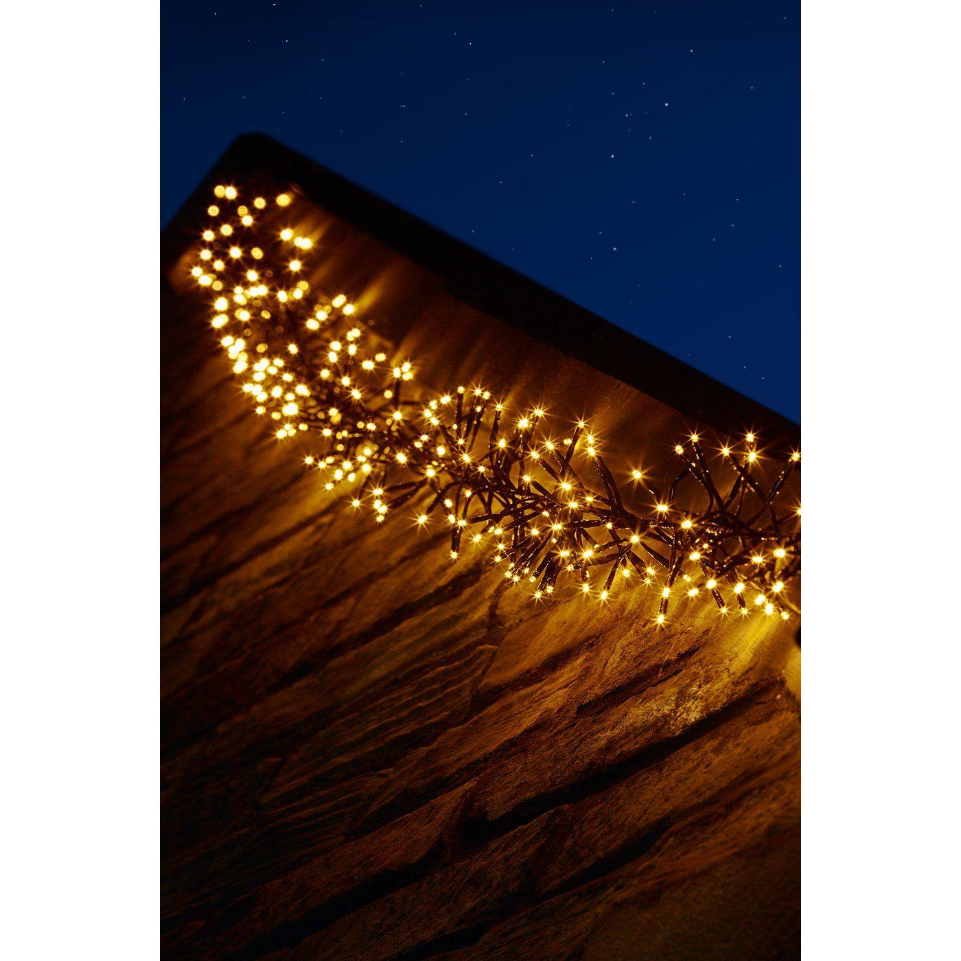 Cluster Lights Tree Decorations ASDA direct Cluster